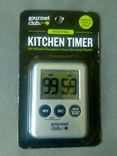 Digital Kitchen Timer - Gourmet Club - Large Display - SHIPS FAST