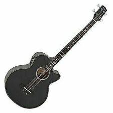 Gear4music 84173 Electro Acoustic Bass Guitar - Black