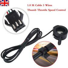 Universal 3 Wires Thumb Throttle Speed Control for E-bike Electric Bike Scooter