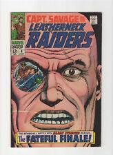 Captain Savage and His Leatherneck Raiders #4 (Marvel, 1968)