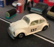 Matchbox Lesney Superfast Volkswagen Bug Beetle 1:64 Trailer Hitch Die Cast Good