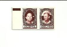 1961 Topps Stamp panel Wertz-Lumpe w/tab