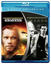 COLLATERAL DAMAGE / ERASER Arnold Schwarzenegger BLU RAY 2 Discs New & Sealed