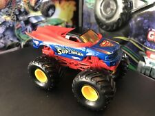 Hot Wheels Monster Jam Truck 1/64 Die-cast Metal Base Small Hub Super Man
