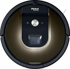 NEW iRobot Roomba 980 Robotic Vacuum ‑ with Wi-Fi Connectivity - Bagless, BLACK