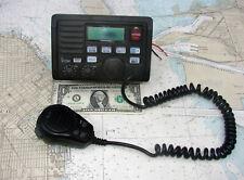 ICOM IC-M502 MARINE VHF RADIO-DSC-CommandMic-12 PHOTOS-SOPHISTICATED !!