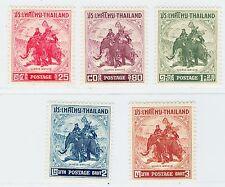 1955 Thailand Siam Stamp King Naresuan Complete Set Mint MNH MLH Sc#304-08