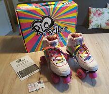 Rio Roller Rollschuhe Gr 39 UK 6 Regenbogenfarben Rainbow Skates Retro