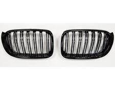 BMW X3 F25 LCI X4 F26 Riñón Rejilla De Parrilla Negro Brillante Doble Barra M Style