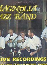 MAGNOLIA JAZZ BAND live recordings CENTRAL CITYJAZZ & RAGTIME JAMBOREE ex LP
