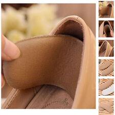 Un-sex Tela Talón Del Zapato Insertos Plantillas Almohadillas Confortable 5Pares