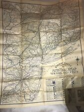 Rand Mcnally Auto Trails Map 1922 Antique Map