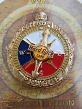 PRAGUE,Hard Rock Cafe Pin,EUROPE COMPASS SERIES