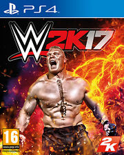 WWE 2K17 (Wrestling 2017) PS4 Playstation 4 IT IMPORT TAKE TWO INTERACTIVE