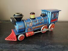 Vintage Working Western Special Smoking  Battery Operated Toy Train !!!