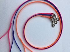 Biothane Puppy Small Dog Leads 9mm Wide- Choose Colour On Purchase
