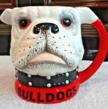 Georgia Bulldogs UGA Ceramic Pitcher Rare Official EXCELLENT No Chips/Cracks