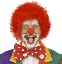Clown Perücke in rot NEU - Karneval Fasching Perücke Haare