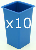 10 x Square candle moulds ~ make your own candles 3 - 10cm high 6cm wide