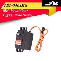 JX Servo PDI-5508MG 8KG Metal Gear Digital Core Servo for Sports Drift RC Car