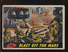 1962 TOPPS  MARS ATTACKS   VG   BLAST OFF FOR MARS  #46   102717