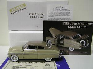 1949 Mercury Club Coupe by Danbury Mint, # 1195147000018 NEW !!!