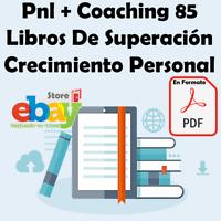 Pnl + Coaching 85 Libros De Superación Crecimiento Personal