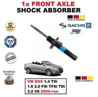 pour VW EOS 1.4 TSI 1.6 2.0 FSI TFSI TDI 3.2 V6 2006- > avant Sachs Amortisseur