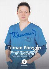 ARD Autogrammkarte Tilman Pörzgen In aller Freundschaft Die jungen Ärzte ZDF NDR