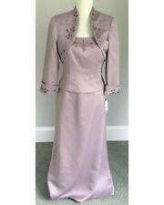 Womens J. R. Nites Size 14P 2 Piece Spaghetti Strap Lilac Dress W Jacket NWT