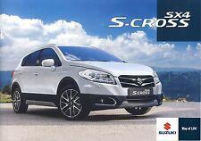 Suzuki SX4 S-Cross 02 / 2015 brochure catalogue polonais rare