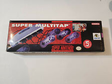 Super Multi tap for Super Nintendo SNES Authentic With authentic box VERY RARE