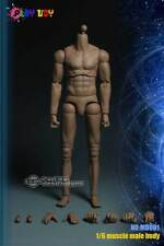 Masculin Muscular Body Corps Musclé 1/6 with neck PLAY TOY MB001 Hot Toys