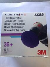"""3M Cubitron II Fibre Roloc Disc, 3"""" 36+-Grit: 33389"""