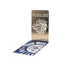 ★GRINDER PER TABACCO THE BULLDOG CARD PIATTO TRITATABACCO SLIM BULGRI004★