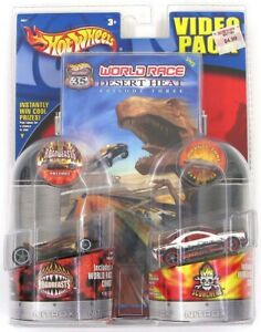 Highway 35 World Race Vulture & Muscle Tone #19 & #35 Video Pack Hot Wheels