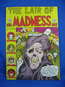 THE LAIR OF MADNESS 1 F VF 1972 UNDERGROUND