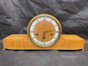 Quality Vintage Art Deco Junghans Mantle Clock. Needs Pendulum