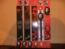 CHE GUEVERA set of 7 BOOKMARKS CUBA CASTRO