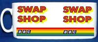 SWAP SHOP BBC TV NOVELTY White Mug  -  Dishwasher Safe