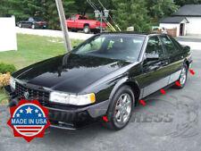 "1992-1997 Cadillac Seville Rocker Panel Trim Body Side Molding 10Pc 7 1/4"" FL"