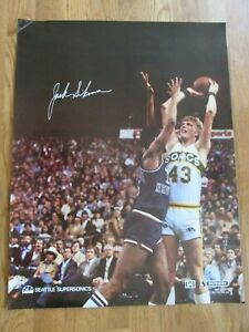 1970'S JACK SIKMA SEATTLE SUPERSONICS POSTER