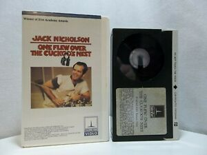 One Flew Over The Cuckoo's Nest Betamax THORN / EMI Beta Box Clamshell (NOT VHS)