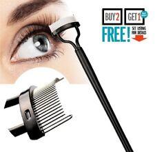 Eyelash Comb Lash Separator Mascara Lift Curl Metal Brush Beauty Makeup Tool UK