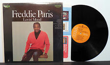 "FREDDIE PARIS Lovin' Mood '68 RCA w Northern popcorn hit ""There She Goes"" M-"