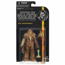 "Star Wars Black Series Merumeru Wookiee Captain 3.75"" Figure Toy"