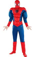 The Amazing Spider-Man Muscle Adult Costume Marvel Comics Brand New - 910