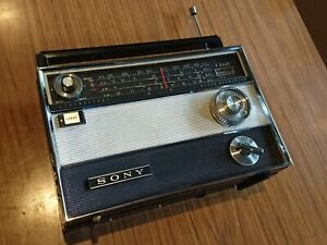 Vintage Sony Radio TR-1000 Transistor WORKING battery 4-band Mozambique