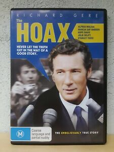 Hoax DVD Richard Gere Movie Clifford Irving Biography - Australian Region 4 PAL
