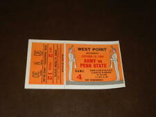 1964 PENN STATE AT ARMY COLLEGE FOOTBALL TICKET STUB EX-MINT